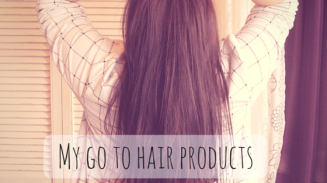 My go to hair products