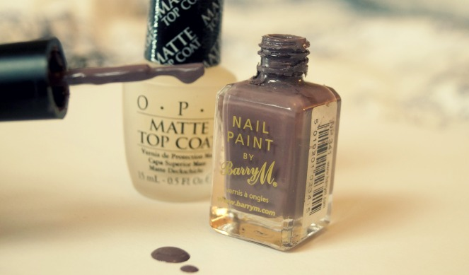Nail polish barry m opi